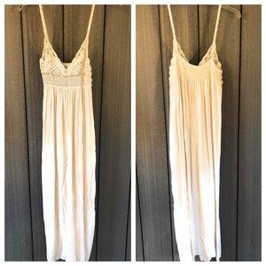 TOBI Crochet Maxi Dress
